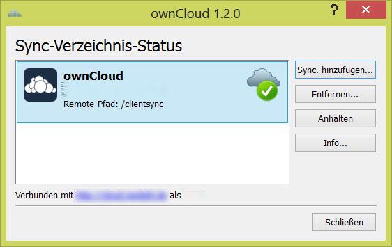 owncloud Windows Client